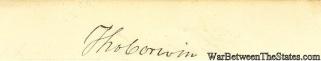 Autograph, Thomas Corwin (Image1)