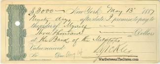 Autograph, General Daniel E. Sickles (Image1)