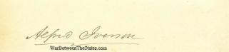 Autograph, Alfred Iverson, Sr. (Image1)