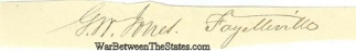 Autograph, George Washington Jones (Image1)