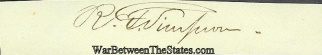 Autograph, Richard F. Simpson (Image1)