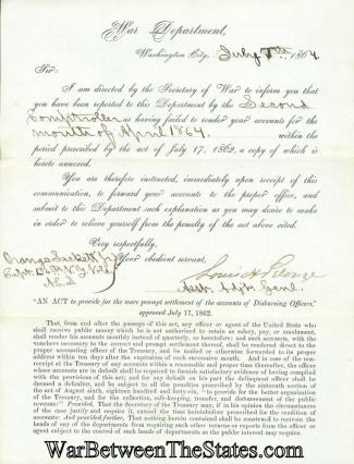 Autograph, General Louis Henry Pelouze (Image1)