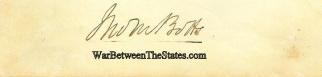 Autograph, John Minor Botts (Image1)