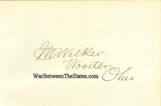 Autograph, Colonel Martin Welker (Image1)