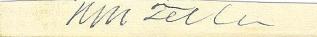 Autograph, General Henry M. Teller (Image1)