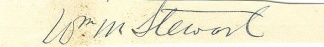 Autograph, William M. Stewart (Image1)