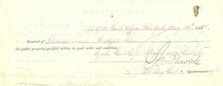 Autograph, General Charles G. Sawtelle (Image1)