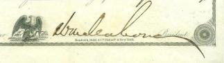 Autograph, General William Mahone (Image1)
