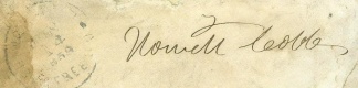 Autograph, General Howell Cobb (Image1)