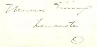 Autograph, General Thomas Ewing (Image1)