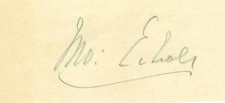 Autograph, General John Echols (Image1)