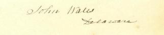 Autograph, John Wales (Image1)