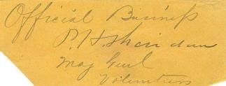 Autograph, General Philip H. Sheridan (Image1)