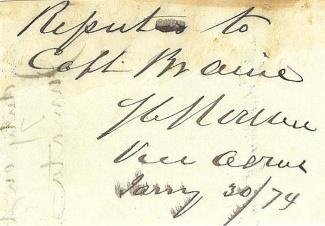 Autograph, Admiral Stephen C. Rowan, U.S. Navy (Image1)