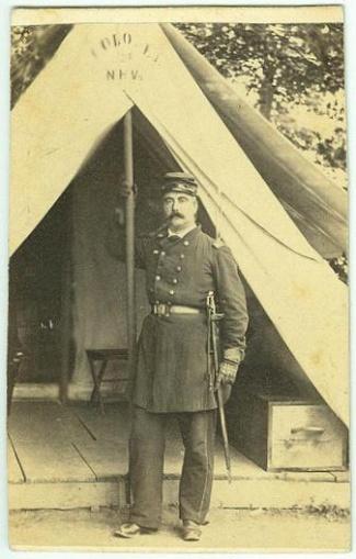 CDV General Francis S. Fiske (Image1)