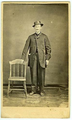 CDV Jack Murray, Chaplain 3rd Arkansas Bushwackers (Image1)