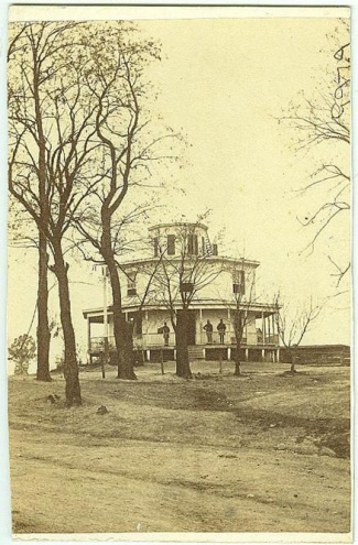 CDV Octagon House, Hdqtrs. General Irvin McDowell (Image1)