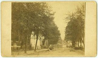 CDV Ruins of Market Street, Chambersburg, Pa. (Image1)