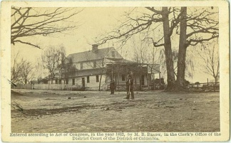 CDV Taylor's Tavern, Near Falls Church, Va. (Image1)