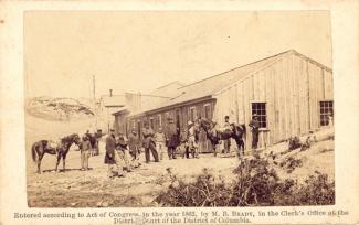 CDV Quartermaster's Department, Yorktown, Virginia (Image1)