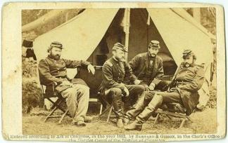 CDV Officers of General McClellan's Staff (Image1)
