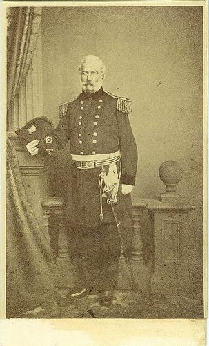 CDV Unidentified Union Brigadier General (Image1)