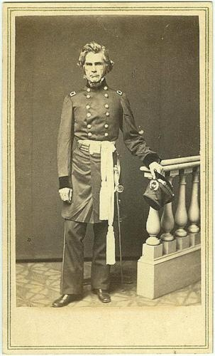 Cdv General Ormsby M. Mitchel