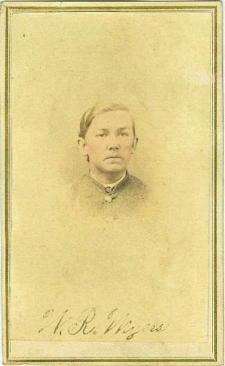 CDV Confederate Private William R. Meyers (Image1)