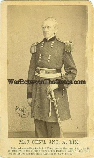CDV General John A. Dix (Image1)