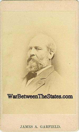 Cdv President James A. Garfield