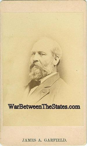 CDV President James A. Garfield (Image1)