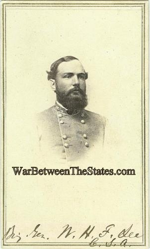 Cdv General William Henry Fitzhugh Lee
