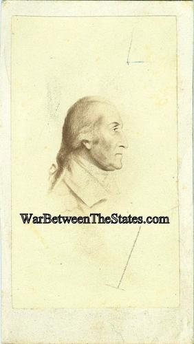 Cdv General George Washington