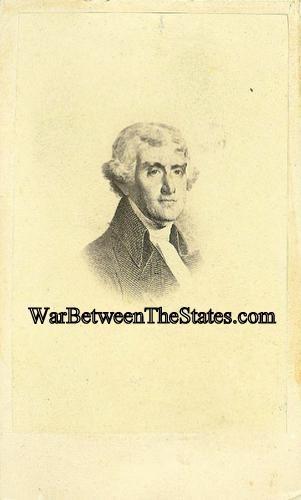 CDV President Thomas Jefferson (Image1)