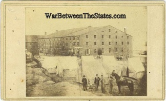 Cdv Libby Prison, Richmond, Virginia