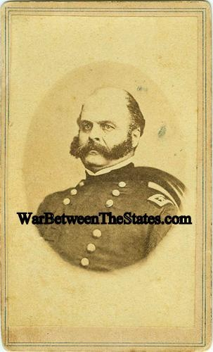 Cdv General Ambrose E. Burnside