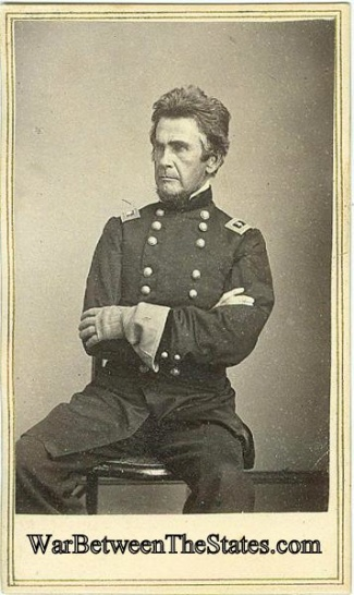 Cdv, General Ormsby M. Mitchel