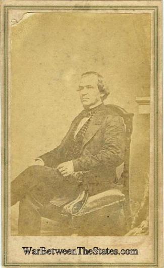 CDV, President Andrew Johnson (Image1)