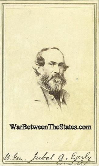 CDV, General Jubal A. Early (Image1)