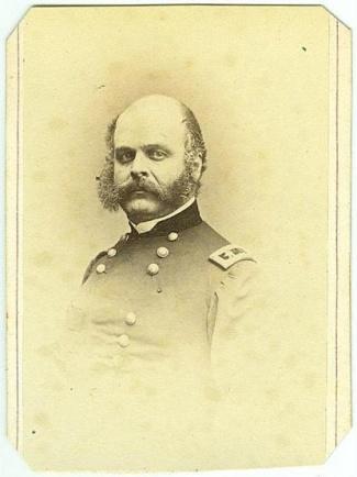 CDV, General Ambrose E. Burnside (Image1)