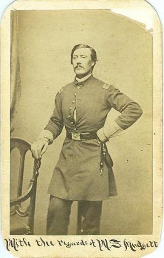 CDV, General William S. Mudgett (Image1)