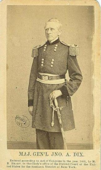 CDV, General John A. Dix (Image1)