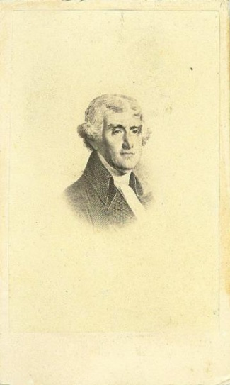 CDV, President Thomas Jefferson (Image1)