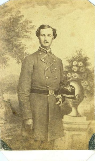 CDV, Confederate Colonel Henry M. Rutledge (Image1)