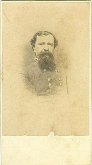 CDV, Confederate General Thomas H. Taylor (Image1)