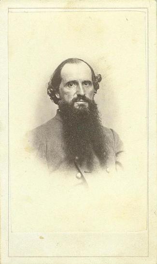 CDV, Identified Confederate Civil War Officer (Image1)