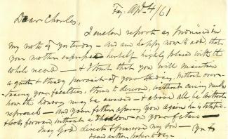 Letter to Future Confederate North Carolina Colonel (Image1)