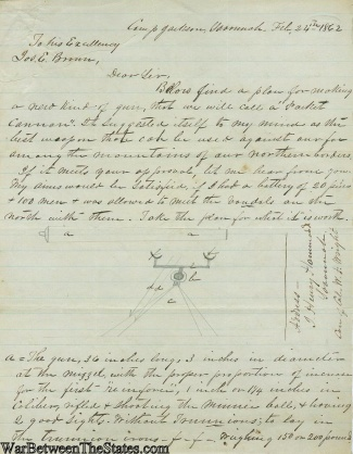1862 Letter to Joseph E. Brown, Governor of Georgia (Image1)