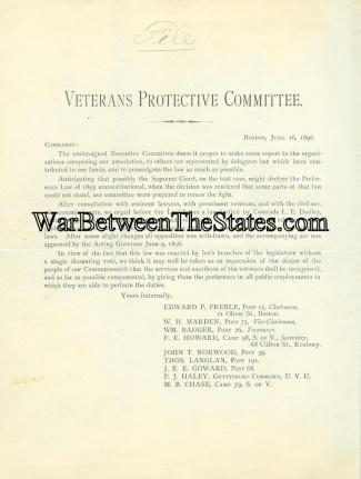 Imprint, Veterans Protective Committee (Image1)