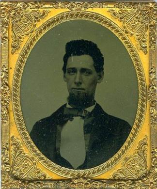 Tintype, Handsome Young Gentleman (Image1)